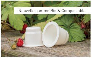 Capsule capmundo biodegradable et compostable